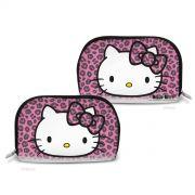 Necessaire Hello Kitty Animal Print