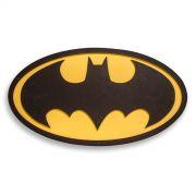 Placa de Madeira Batman Logo