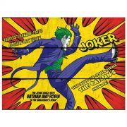 Placa de Madeira The Joker Kicking