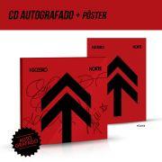 Combo NXZero CD Norte AUTOGRAFADO + Pôster