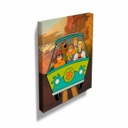 Quadro Scooby-Doo Everybody In The Mystery Machine