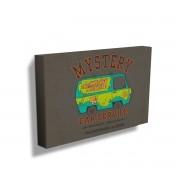 Quadro Scooby-Doo Mystery Machine Car Service