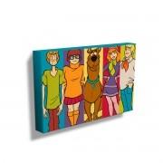 Quadro Scooby-Doo Personagens
