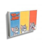 Quadro Tom e Jerry Different Faces