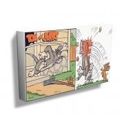 Quadro Tom e Jerry Trapped