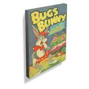 Quadro Looney Tunes Vintage Collection Pernalonga e os Irmãos Gigantes