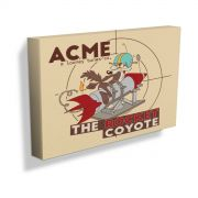 Quadro Tela Looney Tunes  ACME The Rocket Coyote