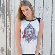 Regata Feminina Esquadrão Suicida Harley Quinn Puddin