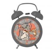 Relogio de Mesa Despertador Tom e Jerry Mad