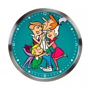 Relogio de Parede Os Jetsons George Receiving Love