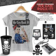Super Combo Feminino 89 FM A Rádio Rock We Can Rock It!