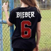 T-shirt Feminina Justin Bieber Purpose Tour 6