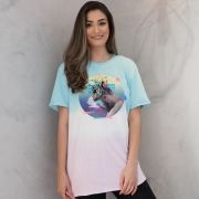 T-Shirt Feminina Luan Santana Check-In