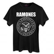 T-Shirt Feminina Ramones Logo