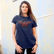 T-shirt Feminina Wonder Woman Logo Authentic