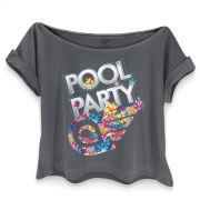 T-shirt Premium Feminina Aviões do Forró Pool Party