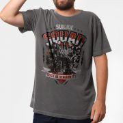 T-shirt Premium Masculina Esquadrão Suicida Built in Deniability