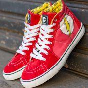 Tênis Cano Alto DC Comics The Flash