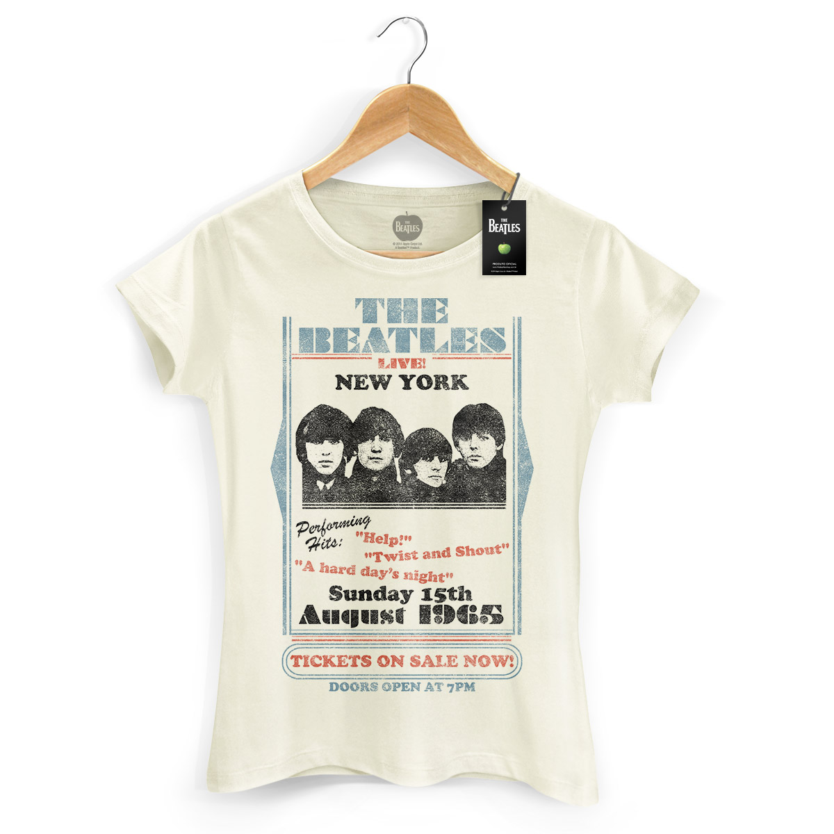 Camiseta Feminina The Beatles Tickets On Sale Now!