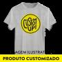 Camiseta Baby Look CustomUP Preta
