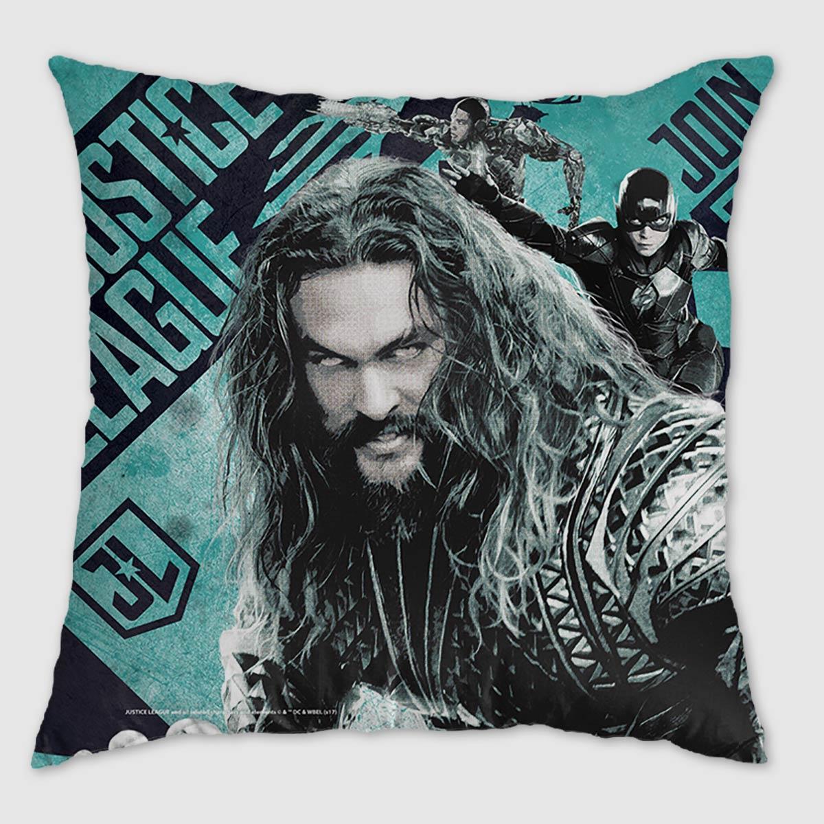 Almofada Liga da Justiça Aquaman