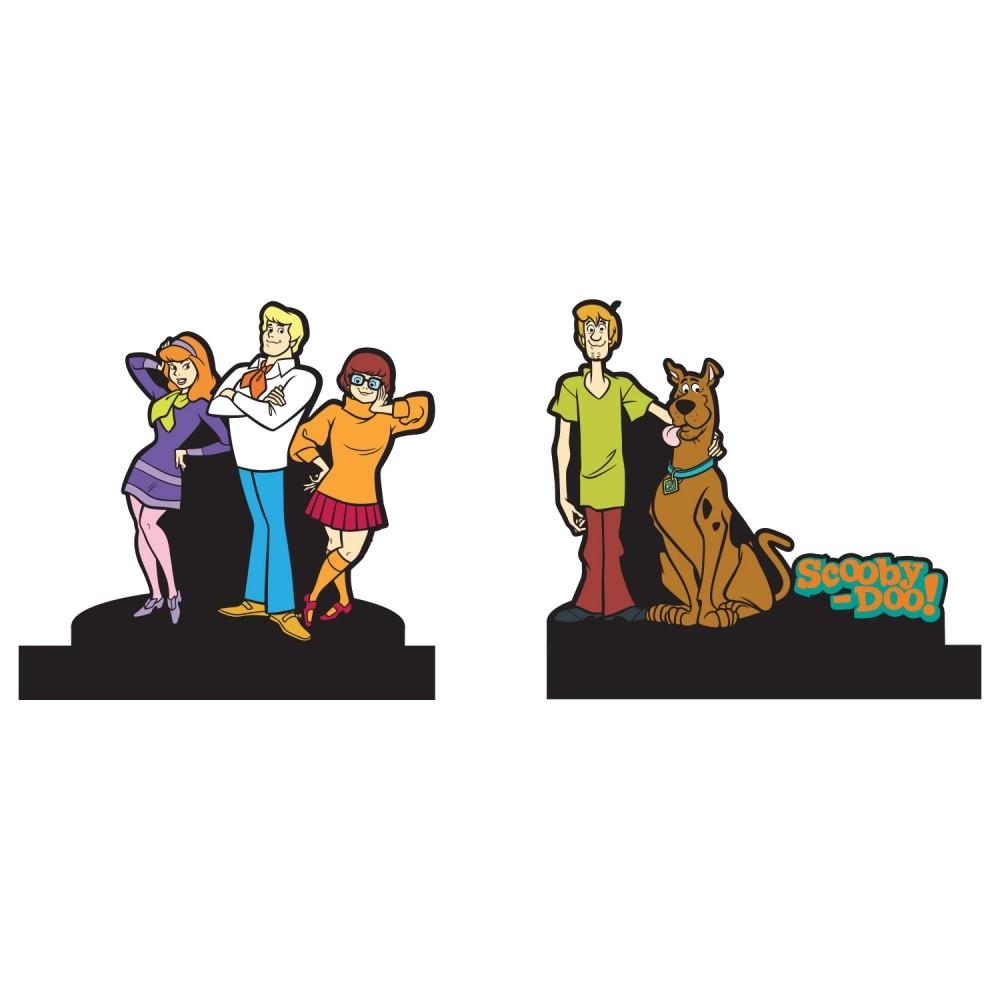 Aparador de Livros Scooby-Doo Personagens