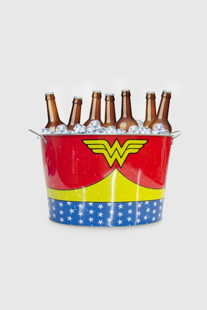 Balde de Gelo Wonder Woman Customs