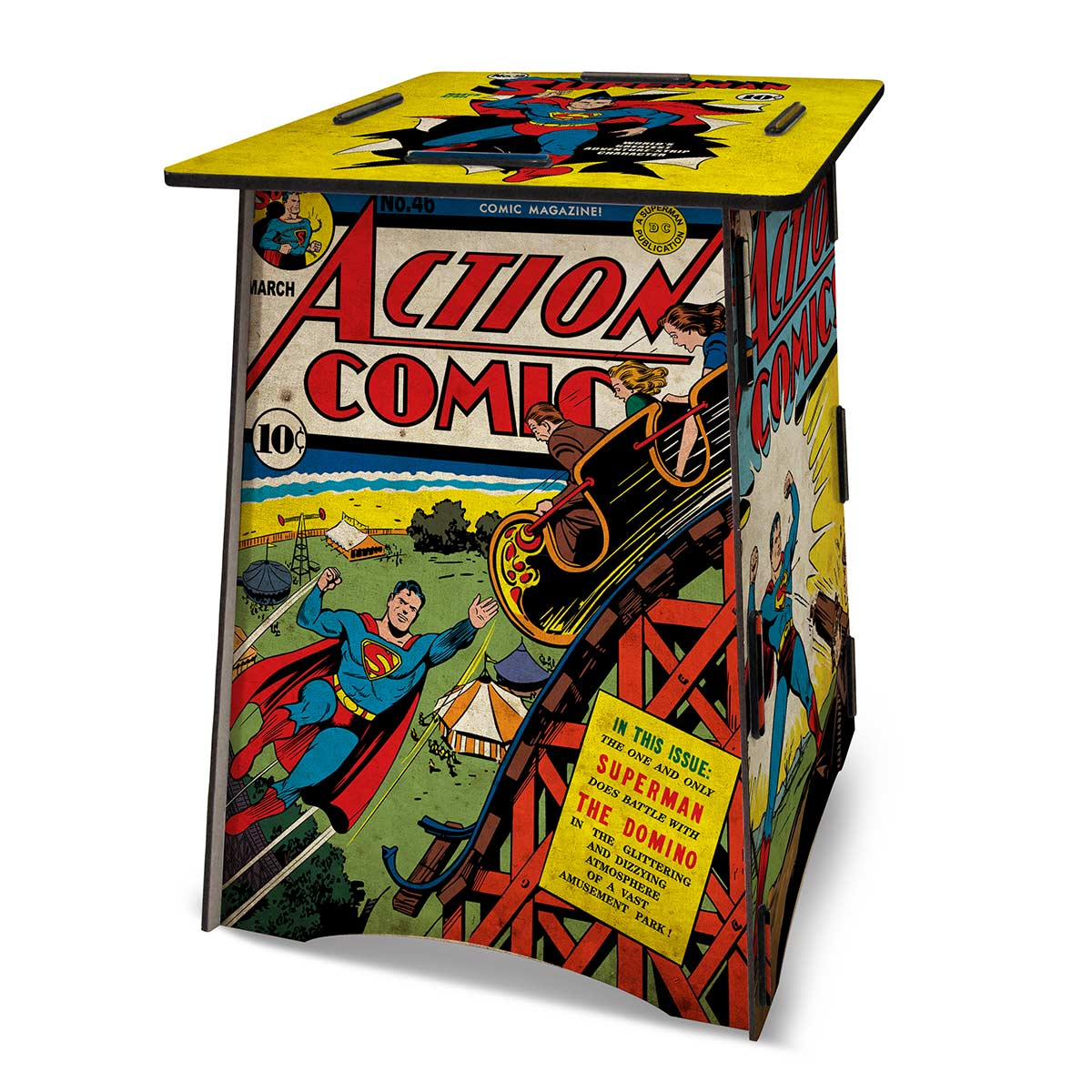 Banco-Mesa Superman Action Comics
