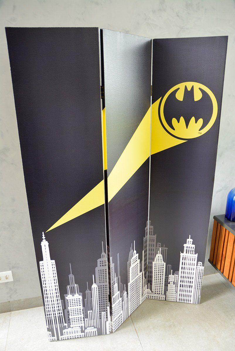 Biombo Batman Sinal de Alerta