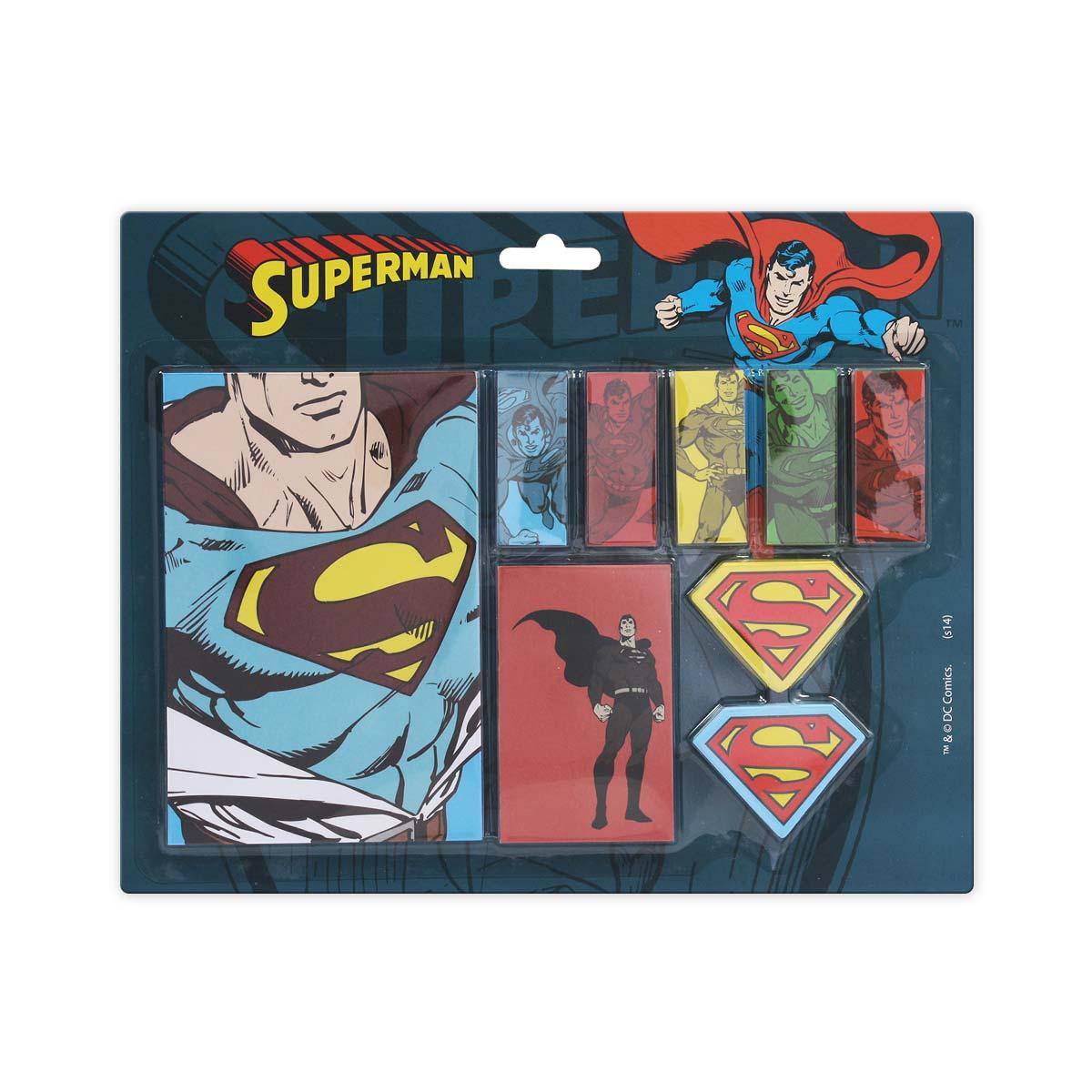 Bloco de Anotacões Superman