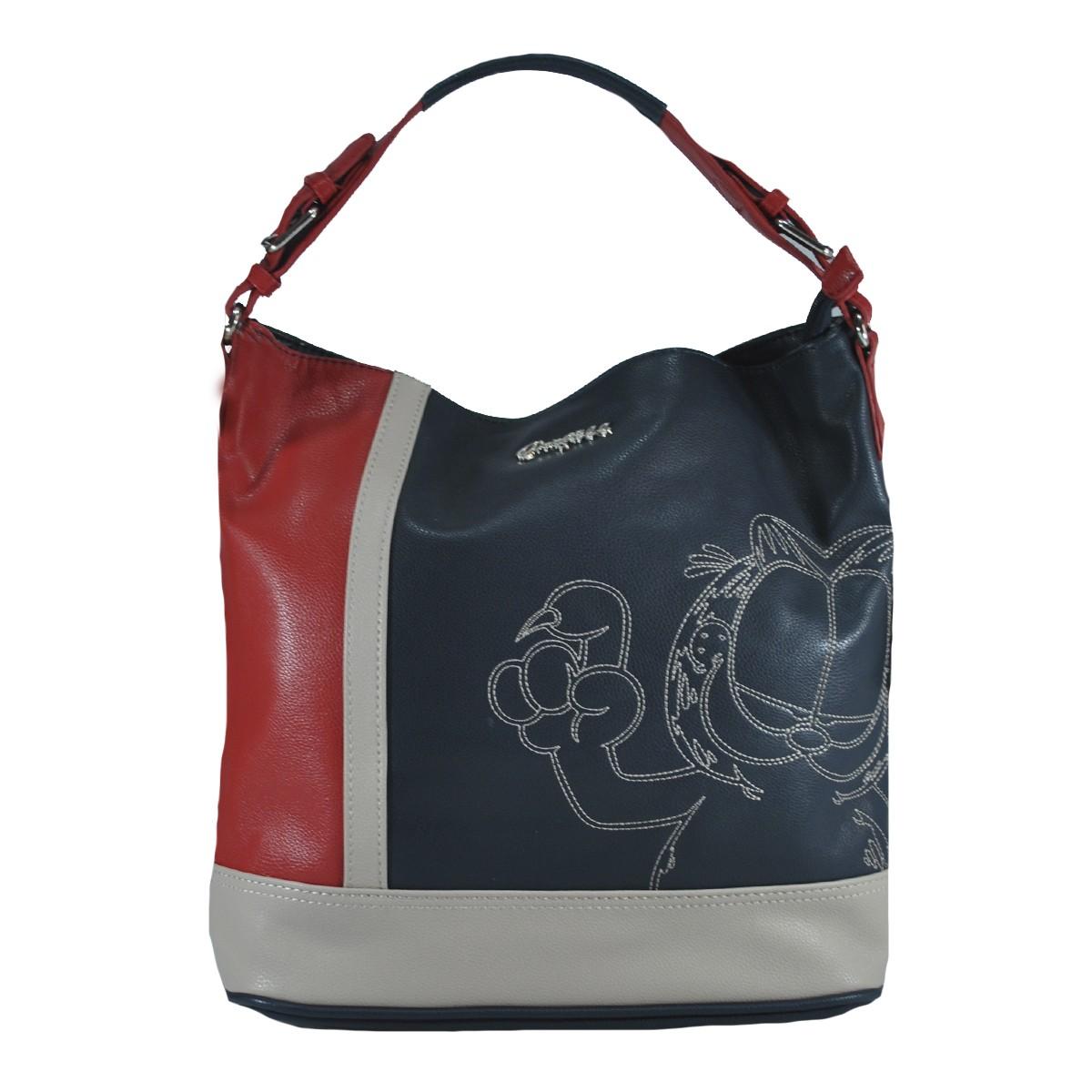 Bolsa Feminina Garfield Azul G03A103-AZ