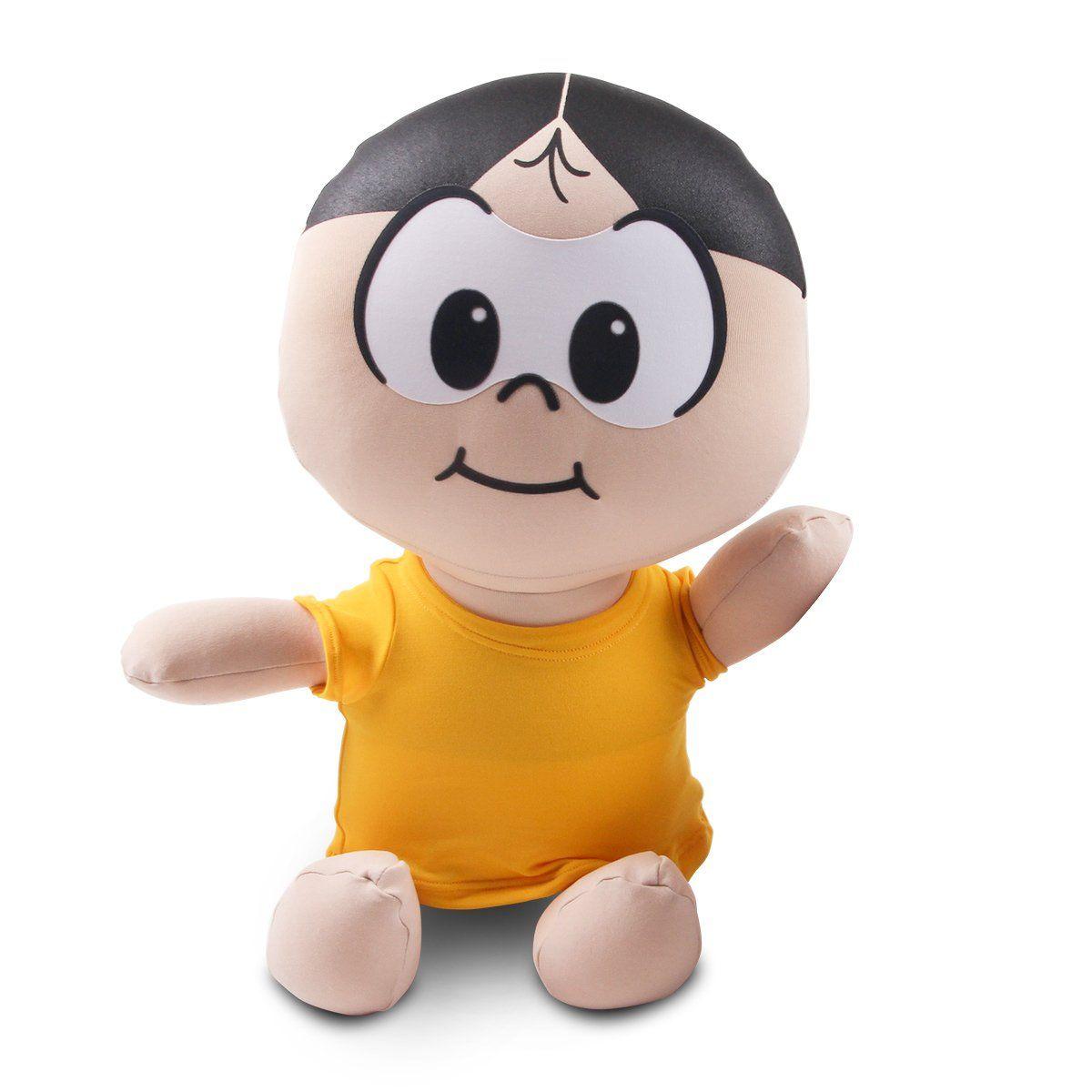 Boneco de Pano Turma da Mônica Magali