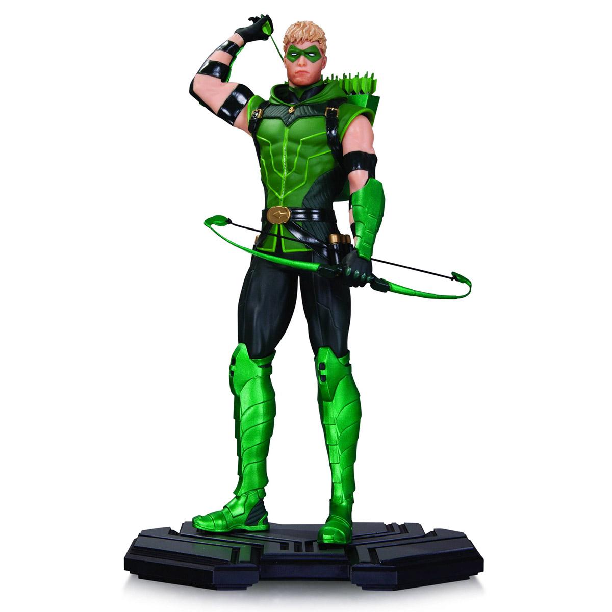 Boneco Green Arrow Comics Icons Statue