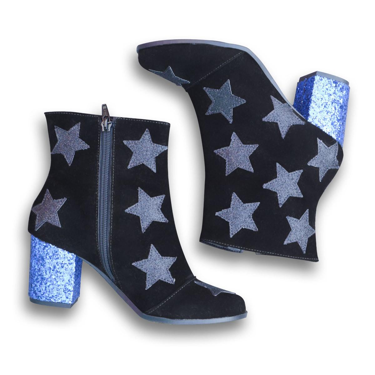 Bota DC Comics Star Glitter