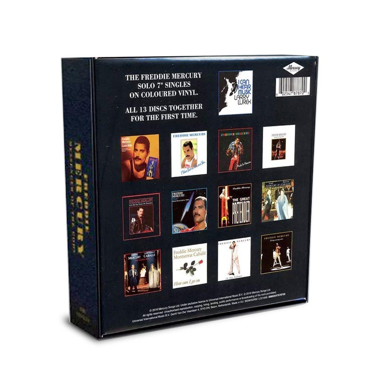 "Box Set 7"" Freddie Mercury Messenger of The Gods"
