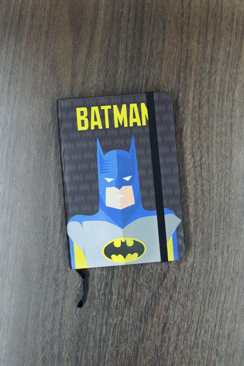 Caderneta de Anotações DC Batman Minimalista