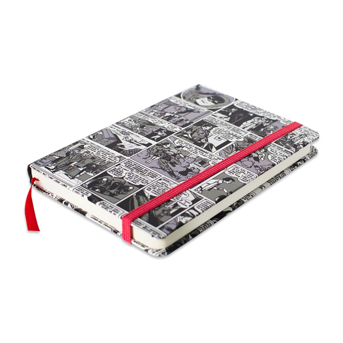 Caderneta de Anotações HQ P&B