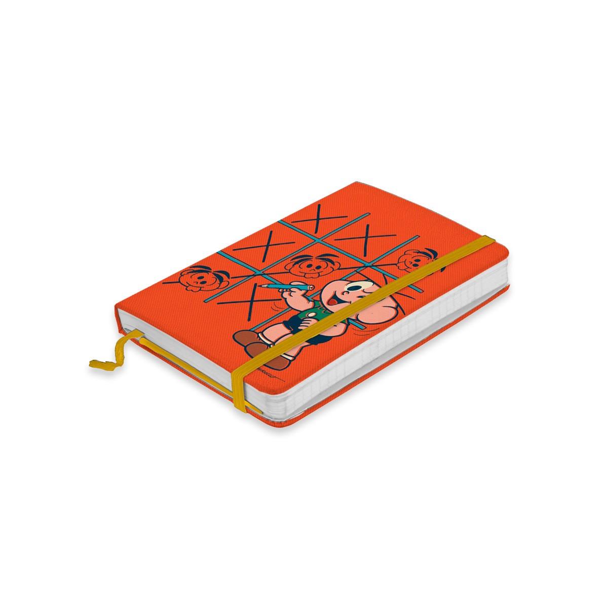 Caderneta de Anotações Turma da Mônica Tic Tac Toe