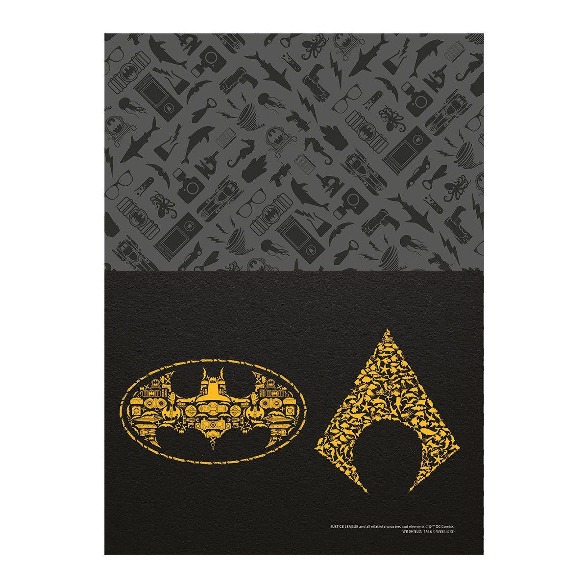 Caderno Aquaman Icons 10 Matérias