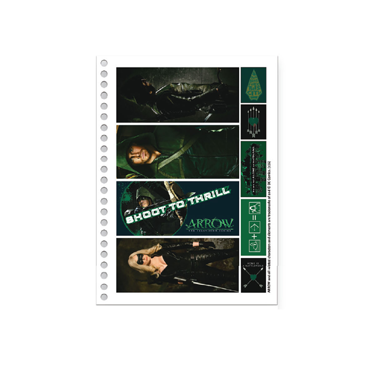 Caderno Arrow Green 1 Matéria