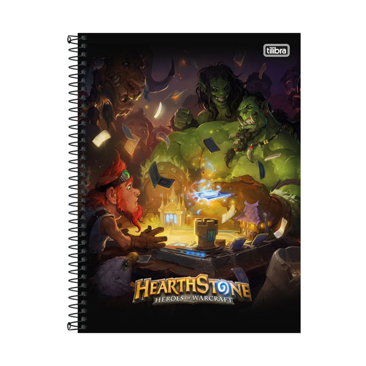 Caderno HearthStone Heroes of Warcraft 1 Matéria