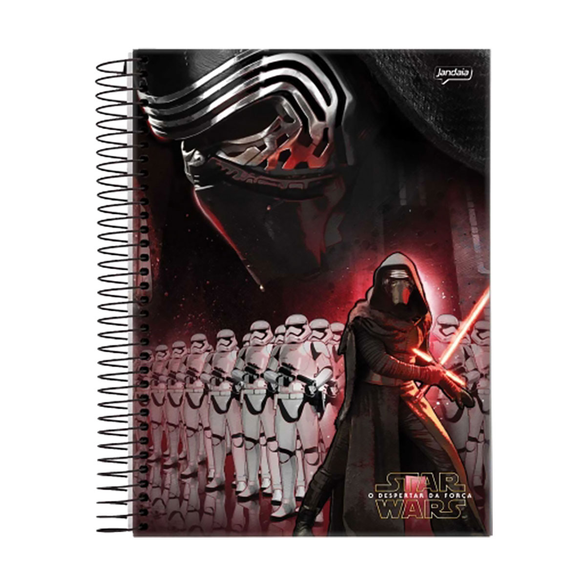 Caderno Star Wars Dark Side 1 Matéria