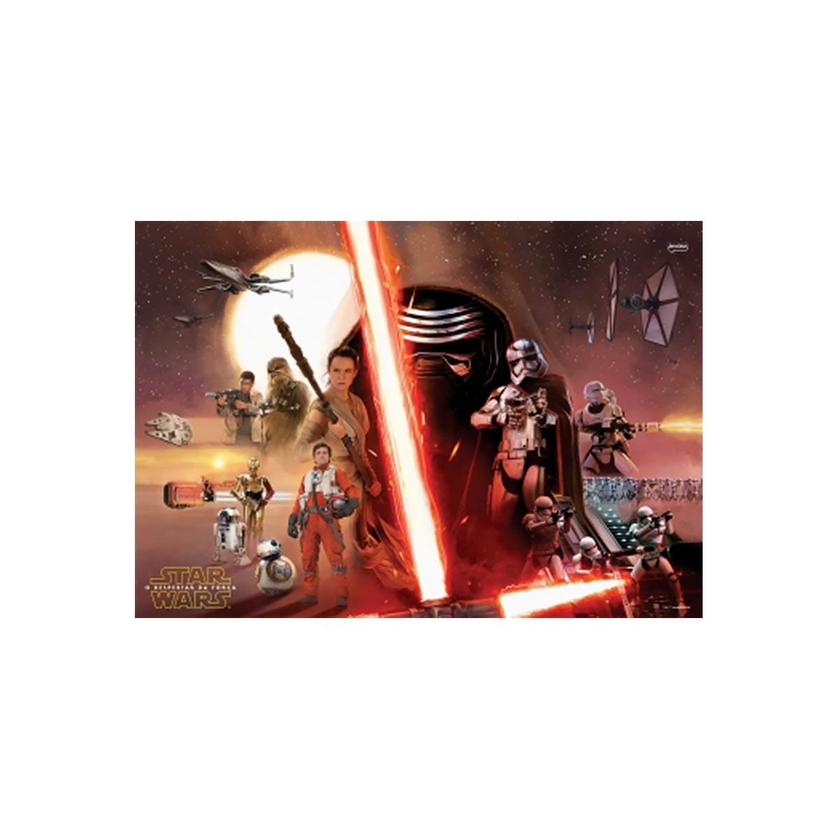 Caderno Star Wars Rey Face 10 Matérias