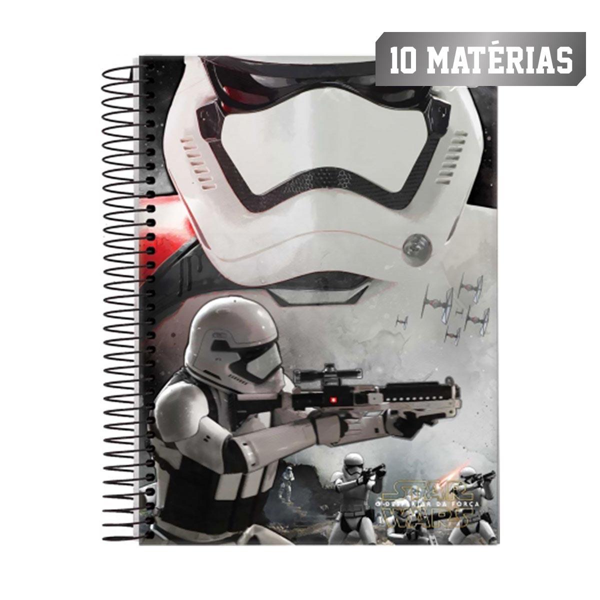 Caderno Star Wars Stormtrooper Fire 10 Matérias