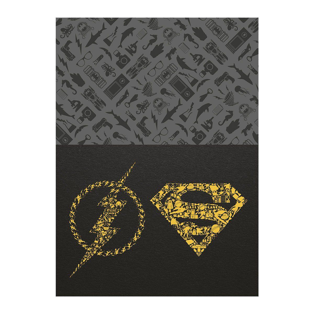 Caderno Superman Icons 1 Matéria