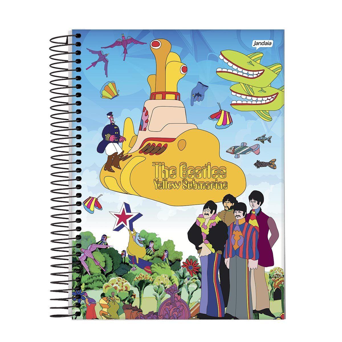 Caderno The Beatles Beatlesmarine 1 Matéria