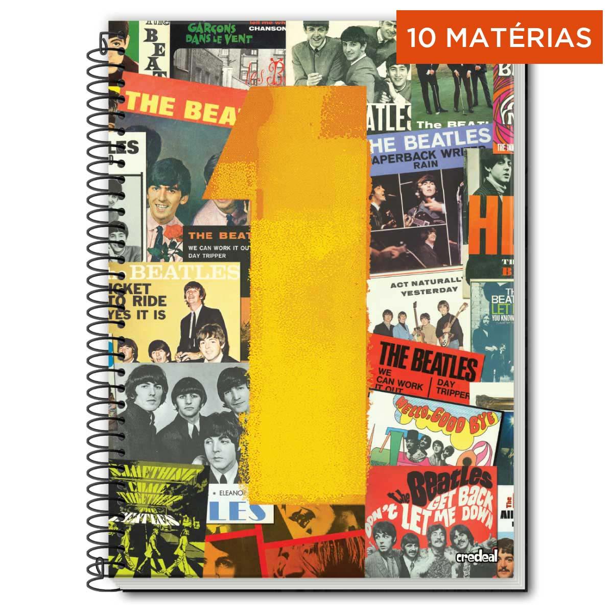 Caderno The Beatles One 10 Matérias