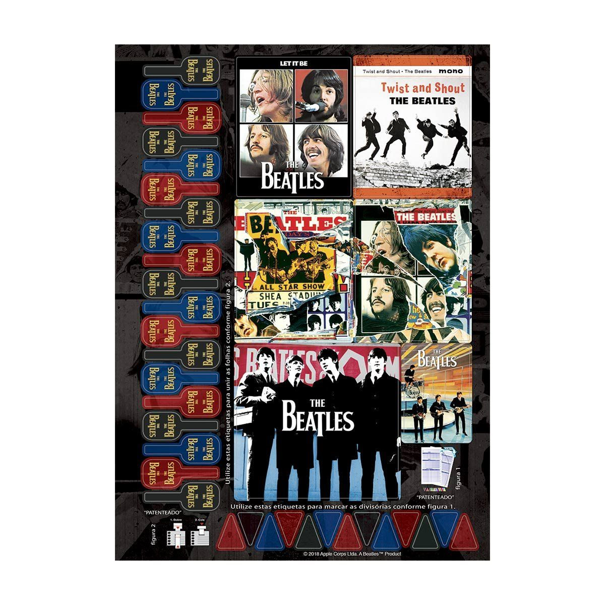 Caderno The Beatles Rainbow 1 Matéria