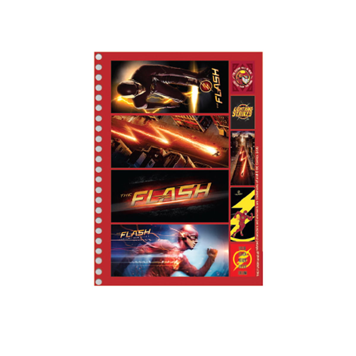 Caderno The Flash Serie Danger 10 Matérias