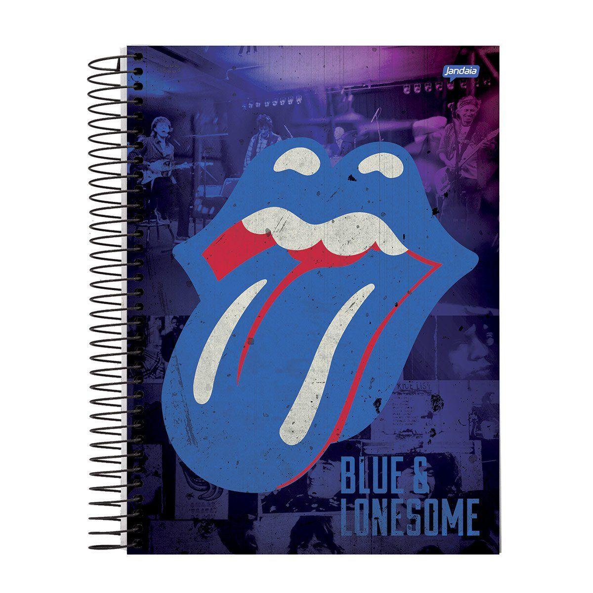 Caderno The Rolling Stones Blue 1 Matéria